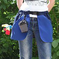 Сумка-юбка дрессировщика с карманами для лакомства, игрушек, фризби